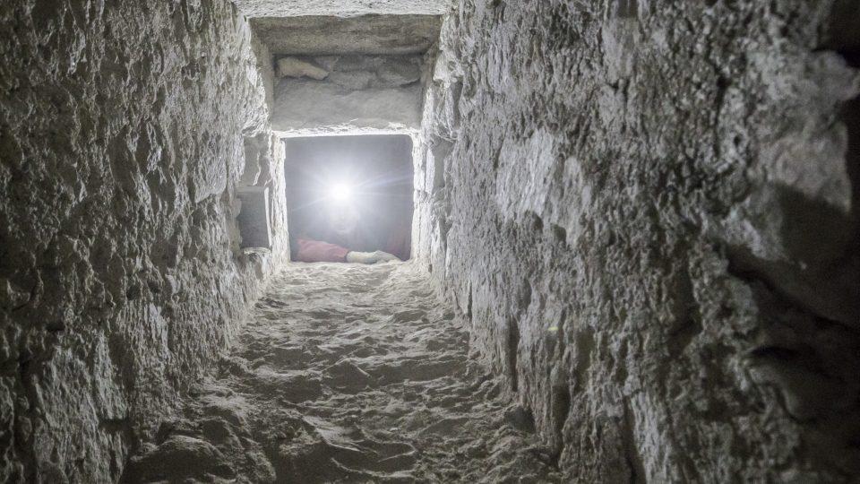 Areál kláštera v Milevsku Areál kláštera v Milevsku zkoumají archeologové, v kostele našli dosud utajenou chodbu