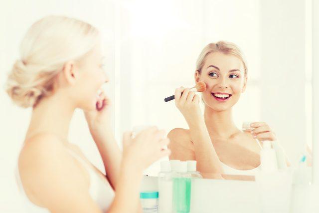 Dívka makeup
