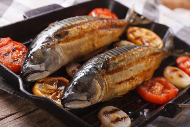 Pečené makrely
