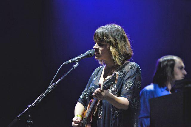 Norah Jones na festivalu Colours of Ostrava 2017   foto: Maxim Oweyssi,  Český rozhlas
