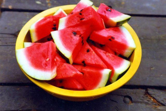Rozkrájený meloun