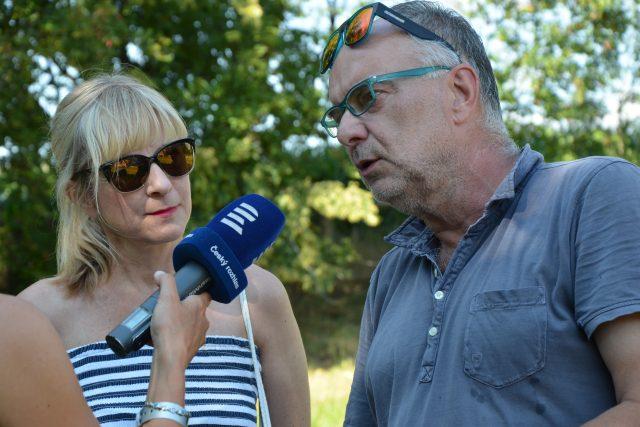 Barbara Trojanová a Ondřej Trojan, pořadatelé Slavonice Festu