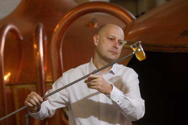 Adam Brož,  vrchní sládek pivovaru Budějovický Budvar   foto: Budějovický Budvar
