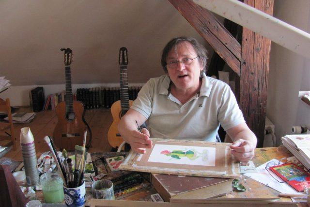 Ilustrátor Jindřich Čapek
