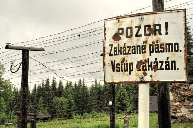 rekonstrukce podoby státní hranice s imperialistickým Německem