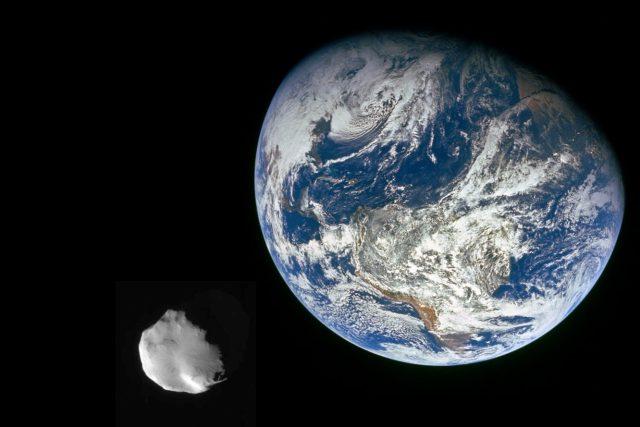 Kolem Země občas proletí větší planetka