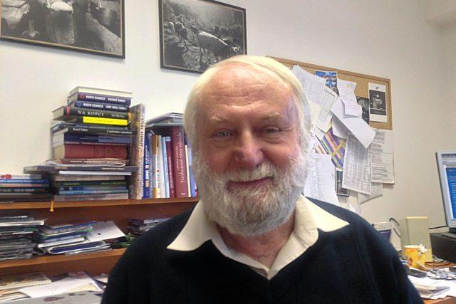 Archeolog Jiří Fröhlich