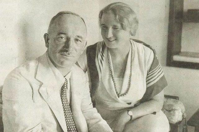 Edvard Beneš a jeho manželka Hana | foto:  Wikipedia,   volné dílo,  Wikimedia Commons,  CC0 1.0