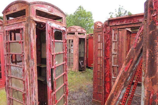 Tradiční britské telefonní budky právem přitahují pozornost