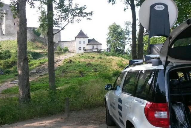 Český rozhlas u Landštejna