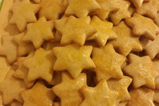 Vánoce, cukroví, pečení, zázvorky