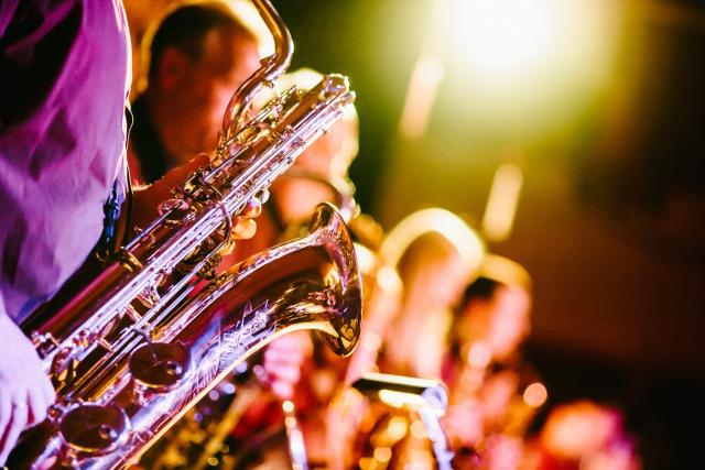 Saxofon, hudba, jazz