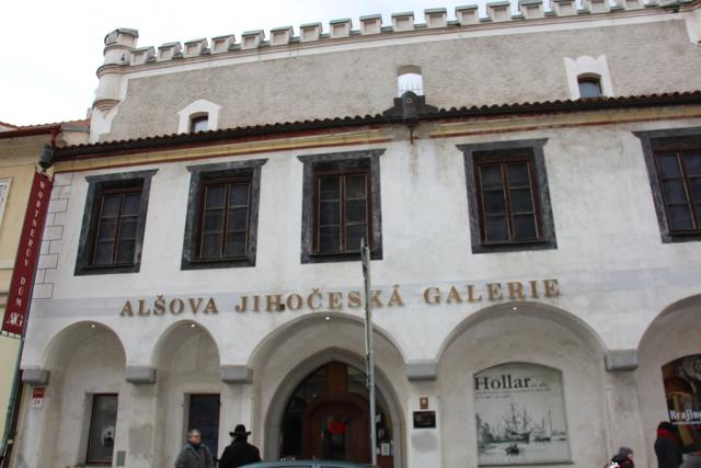 Wortnerův dům v Českých Budějovicích vznikl spojením dvou židovských domků