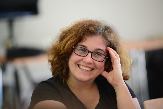 Eva Měřínská, ředitelka knihovny v Táboře