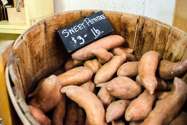 Batáty, sladké brambory