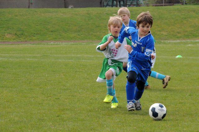 děti, fotbal