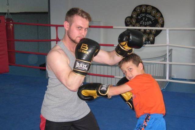 Nové boxery vychovává českobudějovický Box Club táty Němce