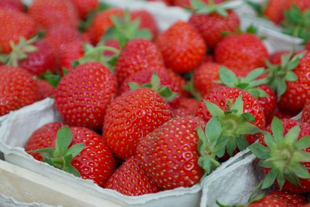 jahody jahoda ovoce