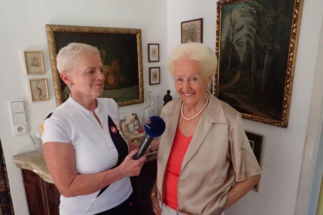 Olga Knoblochová, první československá kosmetička, které se přezdívá Lady Dermacol