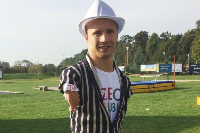 Zlatý paralympionik Arnošt Petráček