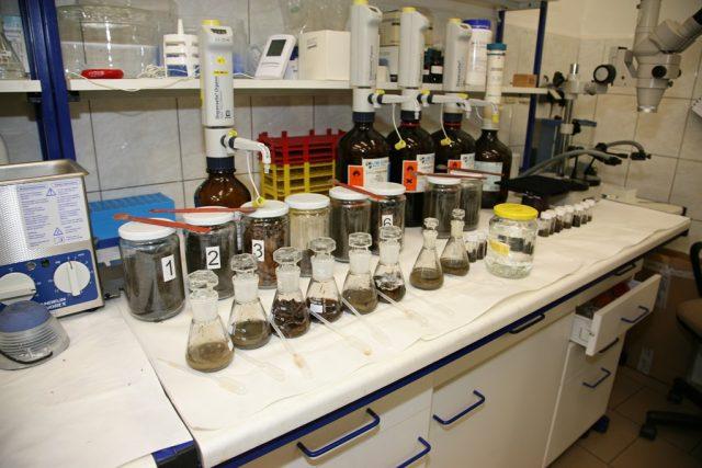 Laboratoř chemiků Policie Jihočeského kraje