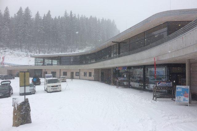 Hochficht u českých hranic je největším rakouským skiareálem mimo Alpy
