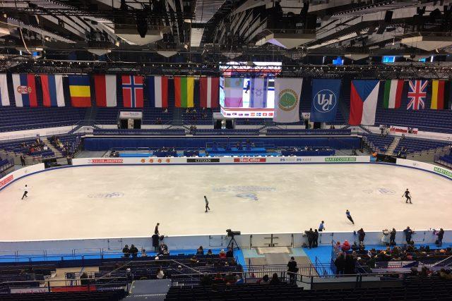 Eva Romanová v Ostravě sleduje mistrovství Evropy v krasobruslení