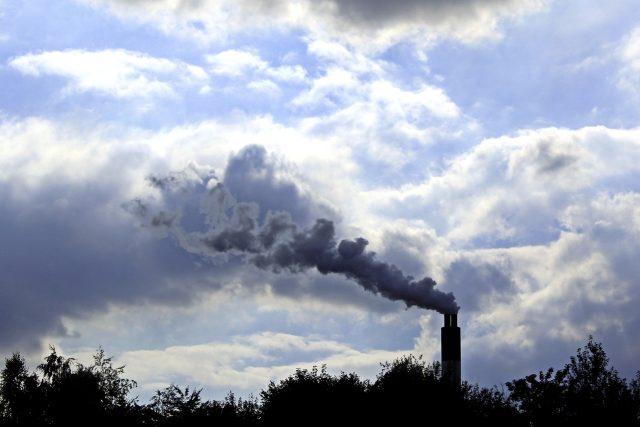 Komín, kouř, znečištění ovzduší