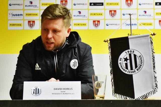Podle trenéra domácích Davida Horejše Dynamo předvedlo nejhorší výkon od jeho nástupu