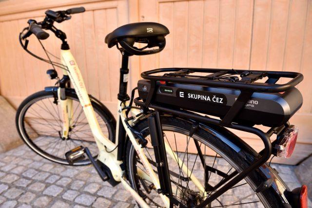 S plně nabitou baterií vám motor na elektrokole pomůže zdolat šedesát kilometrů. Ilustrační foto   foto: Jiří Čondl,  Český rozhlas