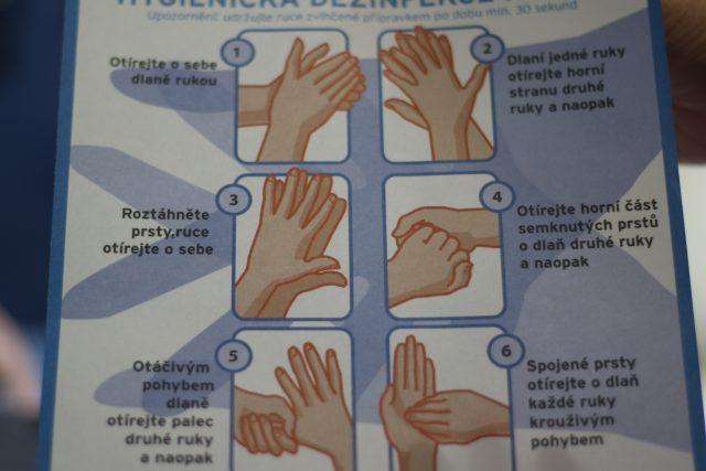 Mytí rukou, Den zdraví, nemocnice Jihlava