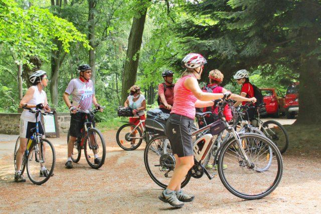 Cykloturisté (ilustr. foto)