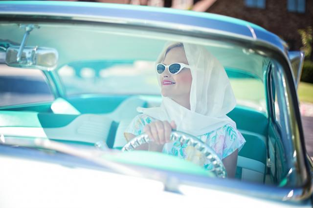 Žena řidička