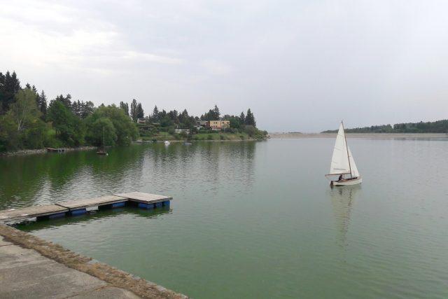 Plumlovská přehrada, sinice