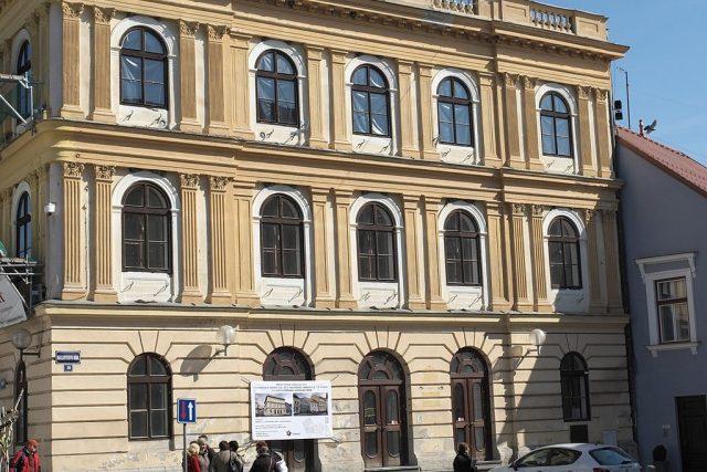 Stará radnice na Masarykově náměstí v Třeboni