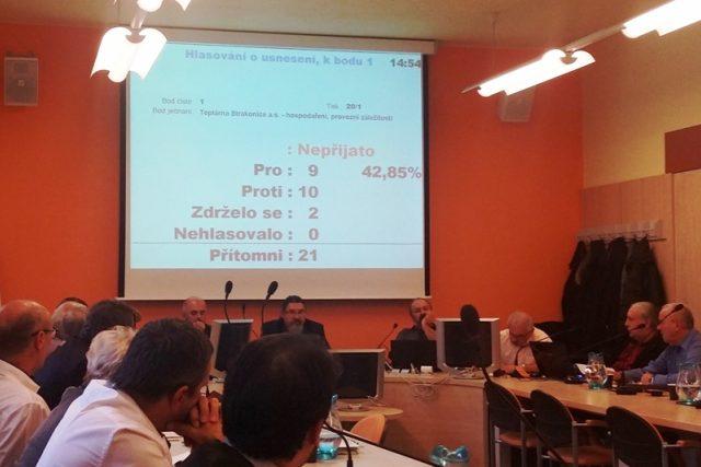 Zastupitelé Strakonic neschválili zveřejňování informací o hospodaření teplárny na webových stránkách po každém čtvrtletí | foto: Václav Malina