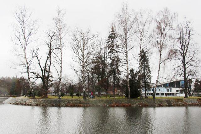 Sokolský ostrov v Českých Budějovicích