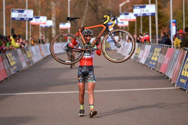 Ze závodu mistrovství Evropy v cyklokrosu v Táboře v roce 2018 | foto: Jiří Čondl, Český rozhlas