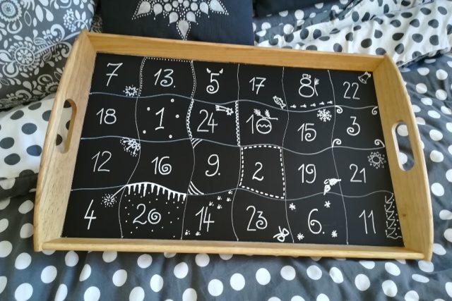 I takto jednoduše můžete vyrobit adventní kalendář. Tip od Moniky Brýdové