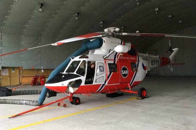 Vrtulník W3A Sokol létá pro zraněné v Jihočeském kraji od té doby, co tu leteckou záchrannou službu začala provozovat armáda