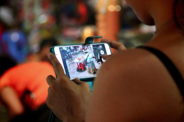 Fotografování mobilním telefonem