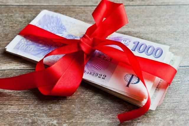 Peníze jako dar