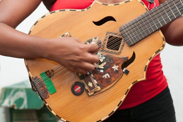 Kytarista, Havana, Kuba