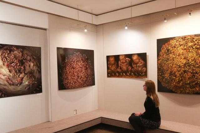 Výstava Oáza hororu v poušti nudy v Prácheňském muzeu v Písku