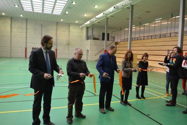 Jihočeská univerzita zahájila provoz ve zmodernizovaném sportovním centru