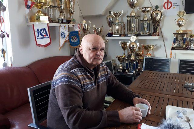 Josef Luxa, předseda Místní organizace 3 Českého rybářského svazu v Českých Budějovicích