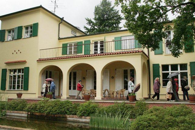 Benešova vila v Sezimově Ústí