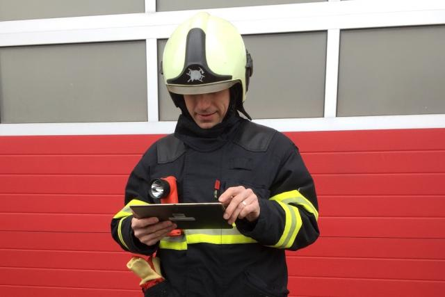 Jihočeští hasiči používají novou aplikaci, která jim pomůže najít nejbližší hydrant