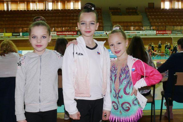 Sportovní klub moderní gymnastiky Máj uspořádal tradiční závody pro své svěřenkyně