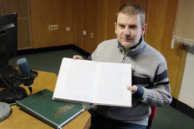 Kronikář obce Doudleby Jan Šimánek